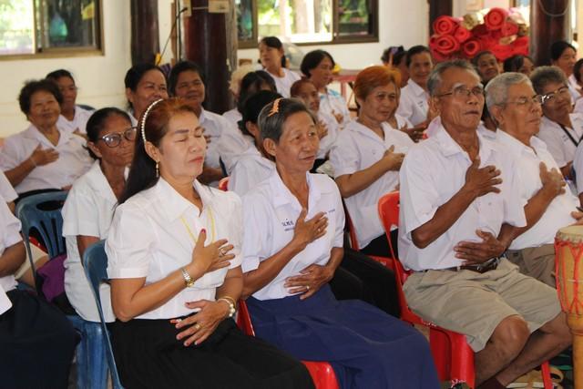 อบรมโครงการดูแลห่วงใยผู้สูงอายุ/ผู้พิการในชุมชน