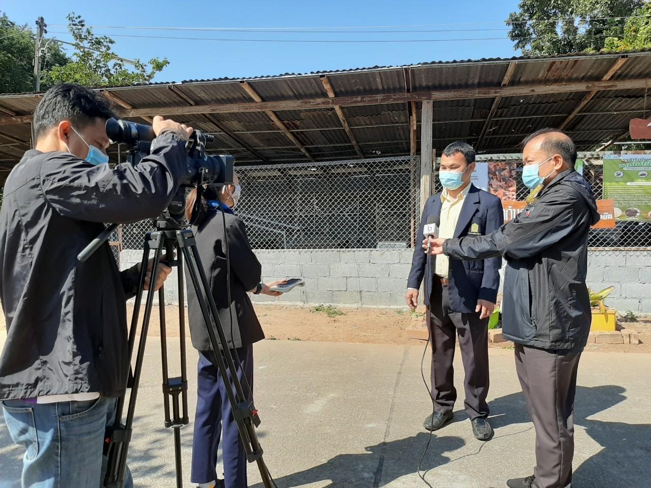 สถานีโทรทัศน์ช่อง NBT ลงพื้นที่ถ่ายทำรายการพิเศษ